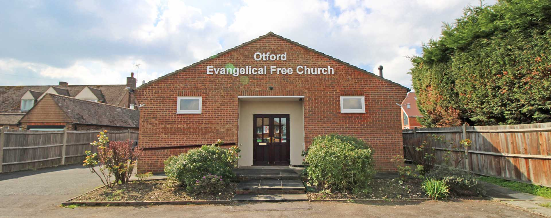 Otford Church Building Photo - Evangelical Free Church near Otford