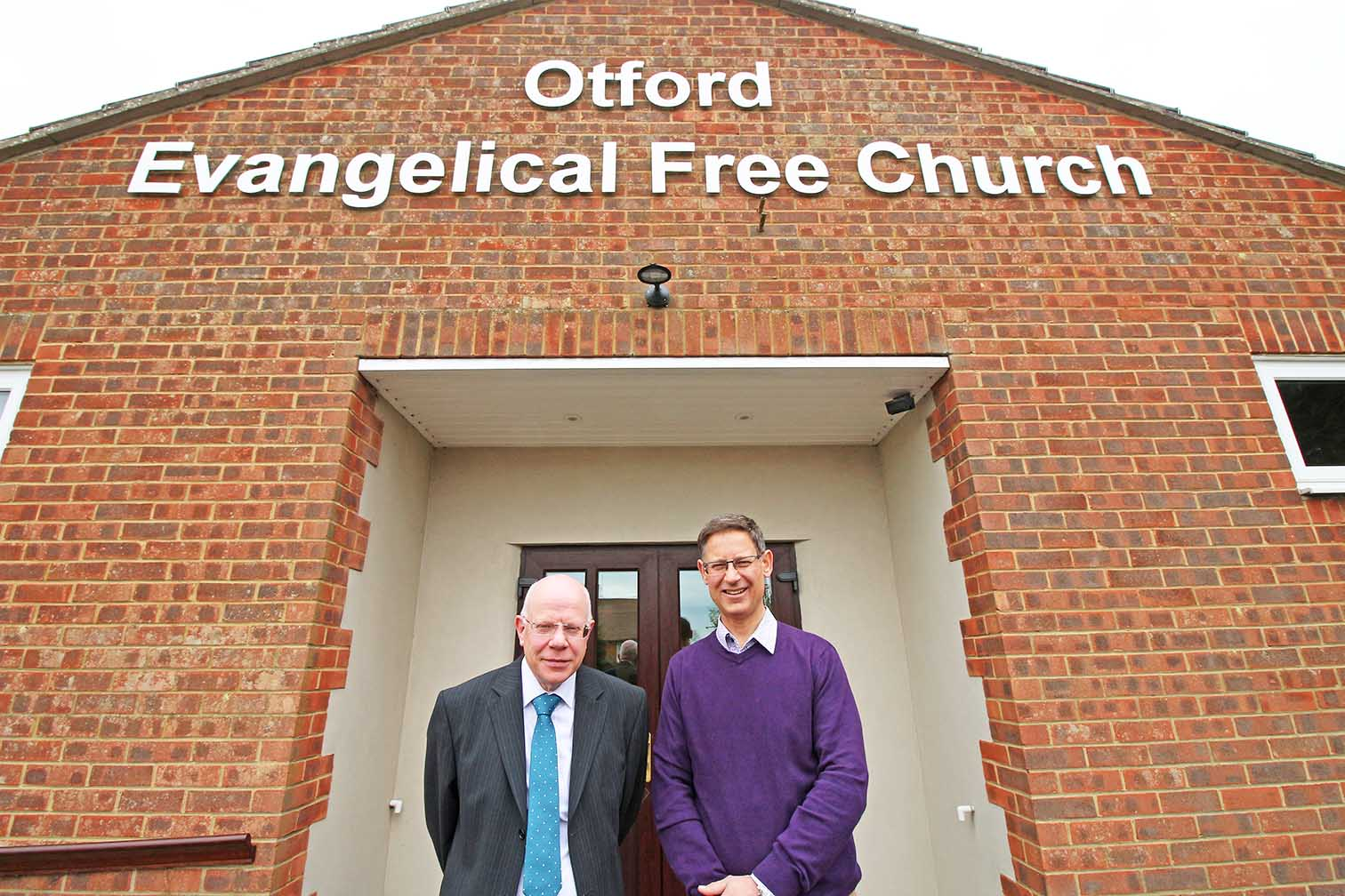 Kevin and Stuart - FIEC Church Elders in Otford Kent